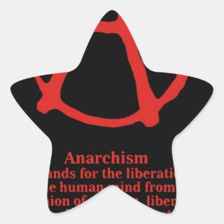 Anarchy Star Sticker