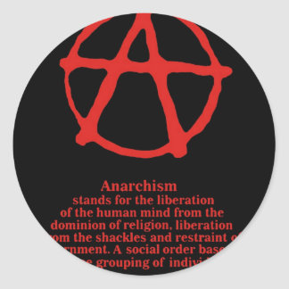 Anarchy Stickers