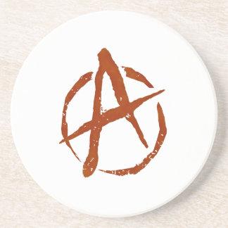 Anarchy Symbol Coaster