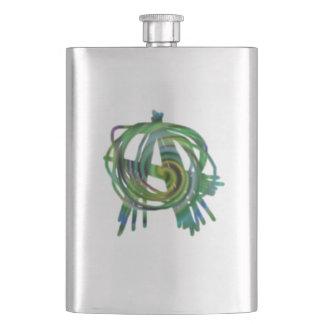 anarchy symbol flask