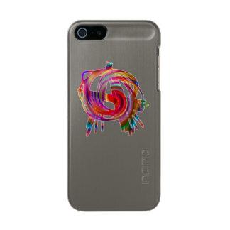anarchy symbol gunmetal iPhone 6 case