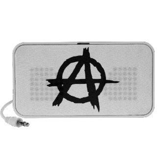 Anarchy Symbol Mini Speakers