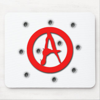 Anarchy Symbol Mouse Pad