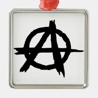 Anarchy Symbol Ornaments