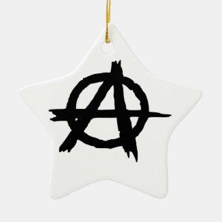 Anarchy Symbol Ornament