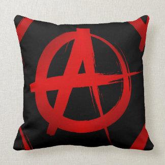 Anarchy symbol pillow