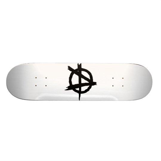 Anarchy Symbol Skateboard