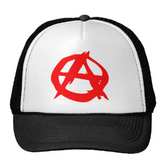Anarchy Symbol Trucker Cap Trucker Hat