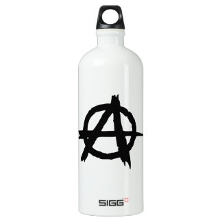 Anarchy Symbol Water Bottle