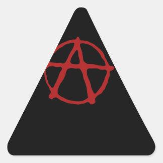 Anarchy. Triangle Sticker