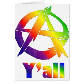 Anarchy, Y'all Card