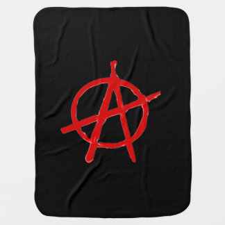 Anarchy Receiving Blanket
