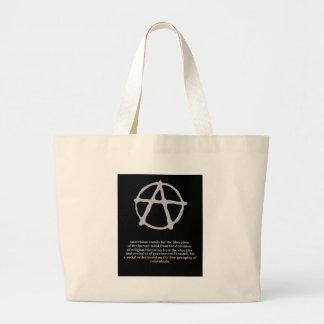 anarquía bolsa de mano