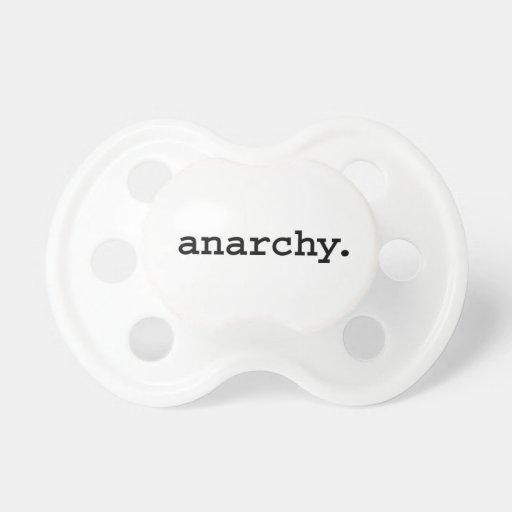 anarquía chupetes de bebe