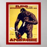 Anarquía - poster alemán de WWI (frontera)