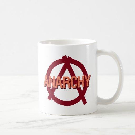 Anarquía Taza De Café