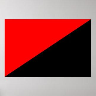 Anarquista, bandera política de Colombia Impresiones