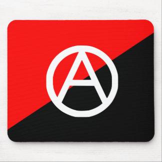 Anarquista con A Symbol2 bandera de Colombia Tapete De Ratones