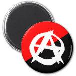 Anarquista con un símbolo, Colombia Imán De Frigorífico
