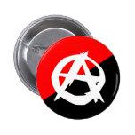 Anarquista con un símbolo, Colombia Pin