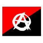 Anarquista con un símbolo, Colombia Postal