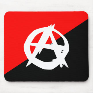 Anarquista con un símbolo Colombia Alfombrillas De Ratón