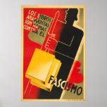 Anarquista de la guerra civil española/poster de F
