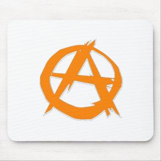 Anarquista y libertad tapete de ratón