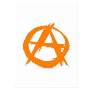 Anarquista y libertad tarjeta postal