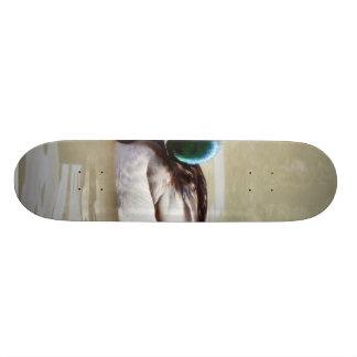 Anas Platyrhynchos Swimming Mallard Skate Decks