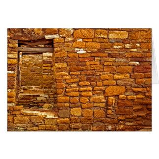 Anasazi Great House Ruin Notecard