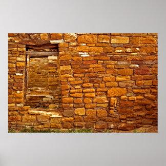 Anasazi Great House Ruins Poster