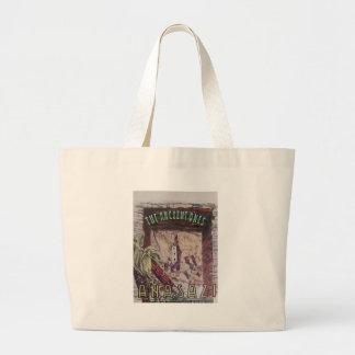 Anasazi Indian Dwelling Caves Canvas Bags