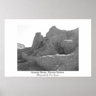 Anasazi Ruins, Navajo Nation Poster