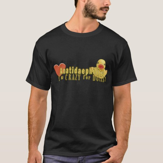 Anatidaephiliac - I LOVE DUCKS T-Shirt