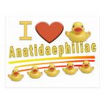 Anatidaephiliac - PATOS del AMOR de I Tarjetas Postales