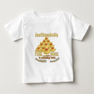 ANATIDAEPHOBIA - FEAR OF DUCKS!  Rubber Duck Baby T-Shirt