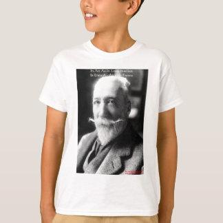 "Anatole France ""Art/Instinct/Love"" Wisdom Gifts T-Shirt"
