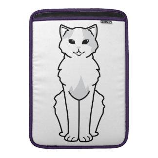 Anatolian Cat Cartoon MacBook Sleeves