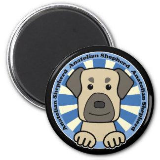Anatolian Shepherd 2 Inch Round Magnet