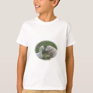 Anatolian shepherd and alpaca baby T-Shirt