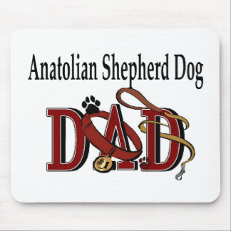 Anatolian Shepherd Dad Gifts Mouse Pad