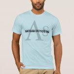 Anatolian Shepherd Dog Breed Monogram T-Shirt