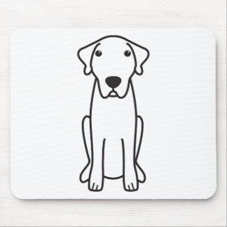 Anatolian Shepherd Dog Cartoon Mouse Pad