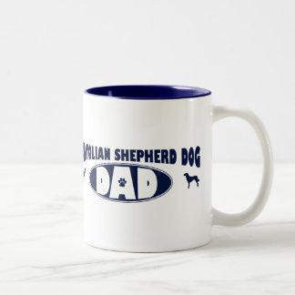 Anatolian Shepherd Dog Dad Two-Tone Coffee Mug