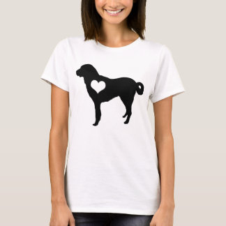 Anatolian Shepherd Dog Heart T-Shirt