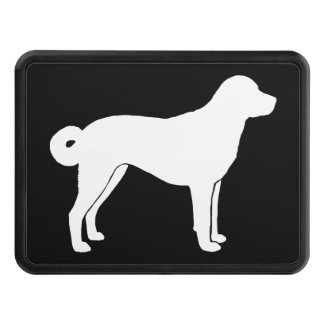 Anatolian Shepherd Dog Silhouette Hitch Cover