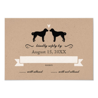Anatolian Shepherd Dogs Wedding RSVP Response Card