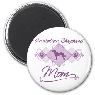 Anatolian Shepherd Mom 2 Inch Round Magnet
