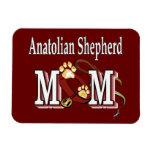 anatolian shepherd mom rectangle magnet